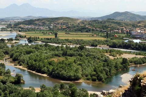 Albania Drin river