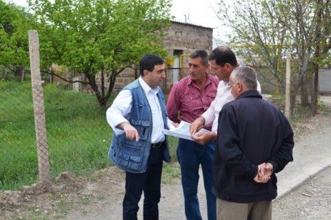 Event in Lukashin 2 people talking