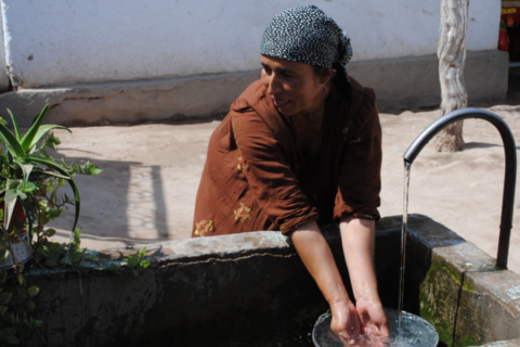 Tajikistan water
