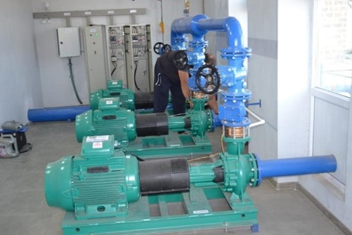 The pumping station ASPIRED built for the Sayat-Nova community.