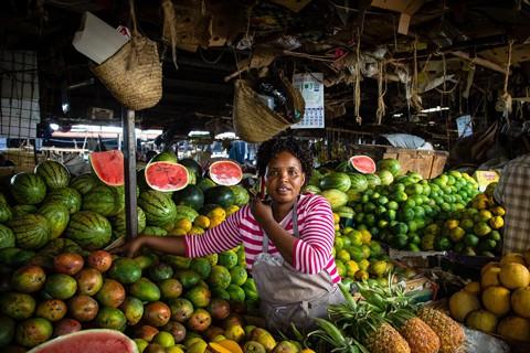 Kenya Nairobi market