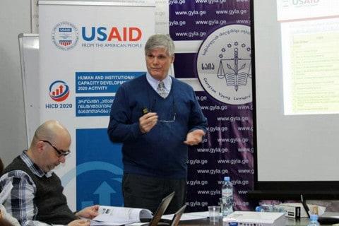 Georgia HICD 2020 USAID meeting